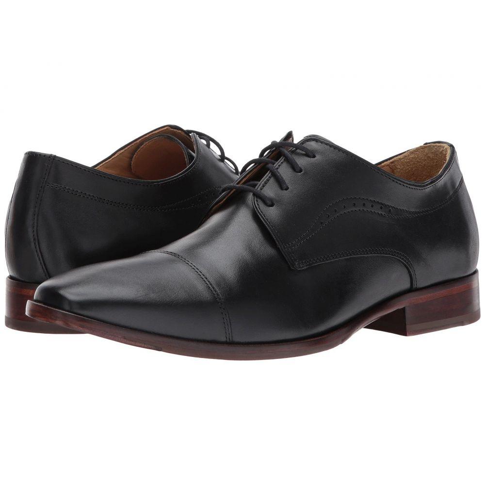 ジョンストン&マーフィー Johnston & Murphy メンズ 革靴・ビジネスシューズ シューズ・靴【McClain Cap Toe Dress Oxford】Black Full Grain