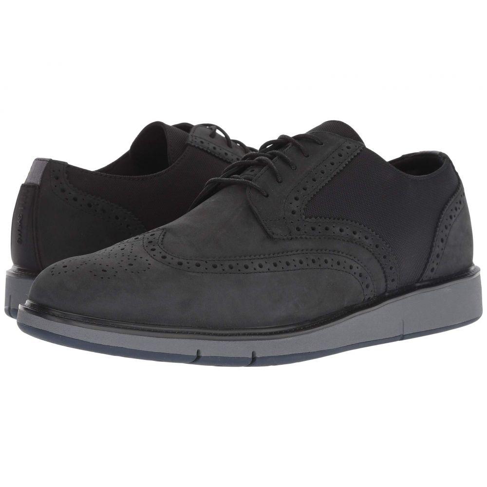 スウィムス SWIMS メンズ 革靴・ビジネスシューズ ウイングチップ シューズ・靴【Motion Wing Tip Oxford】Black/Grey/Navy