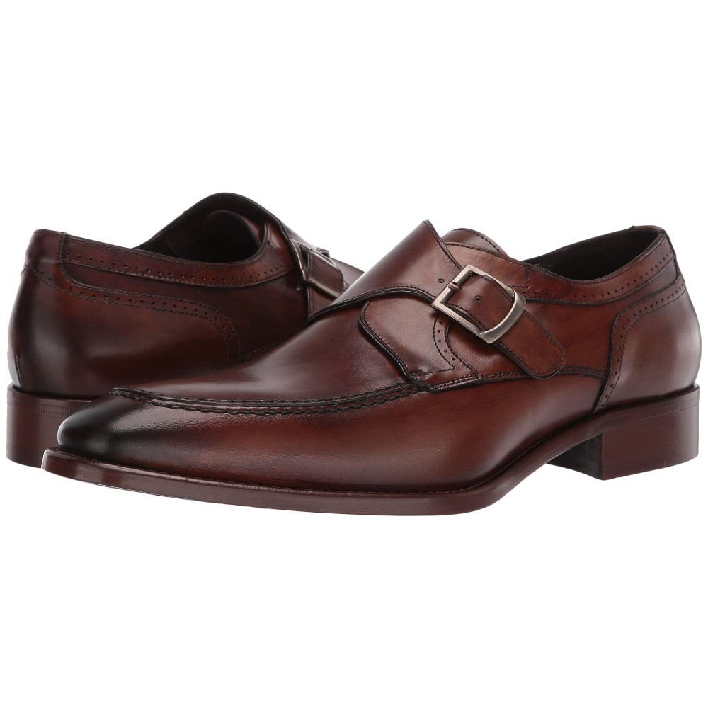 ジョンストンアンドマーフィー J&M Collection メンズ 革靴・ビジネスシューズ シューズ・靴【Cormac Monk】Tan