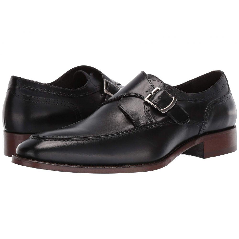 ジョンストンアンドマーフィー J&M Collection メンズ 革靴・ビジネスシューズ シューズ・靴【Cormac Monk】Black