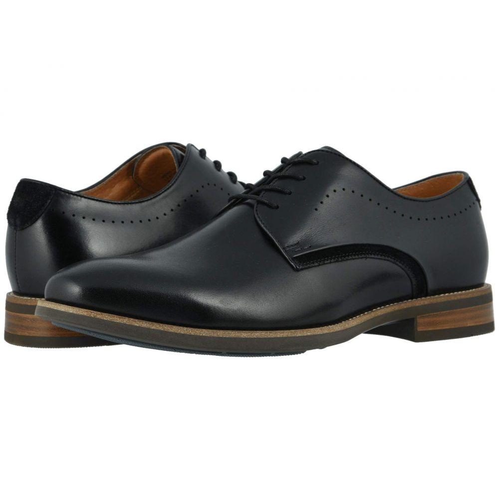 フローシャイム Florsheim メンズ 革靴・ビジネスシューズ シューズ・靴【Uptown Plain Toe Oxford】Black Leather/Suede
