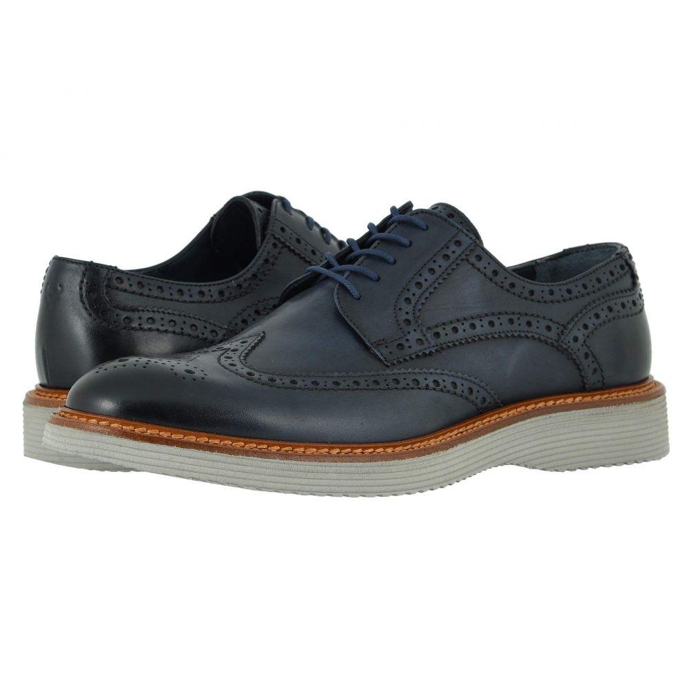 トラスク Trask メンズ 革靴・ビジネスシューズ シューズ・靴【Rogan】Navy Italian Calfskin