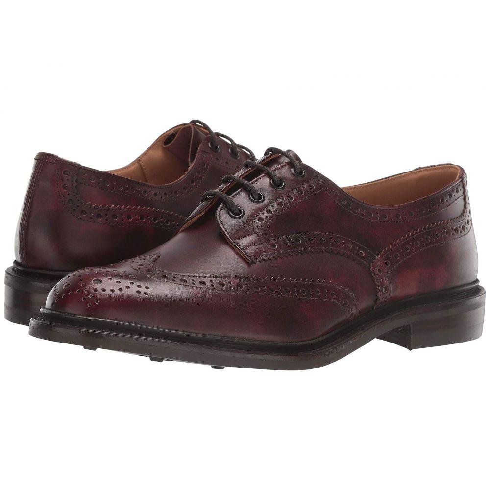 トリッカーズ Tricker's メンズ 革靴・ビジネスシューズ シューズ・靴【Bourton Oxford】Burgundy