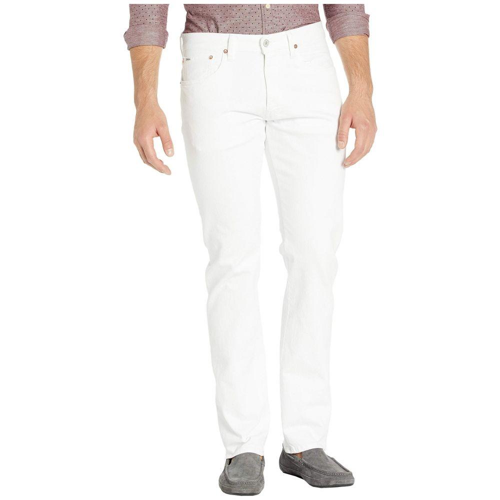 ラルフ ローレン Polo Ralph Lauren メンズ ジーンズ・デニム ボトムス・パンツ【Varick Stretch Slim Straight Denim Jeans】Hudson White