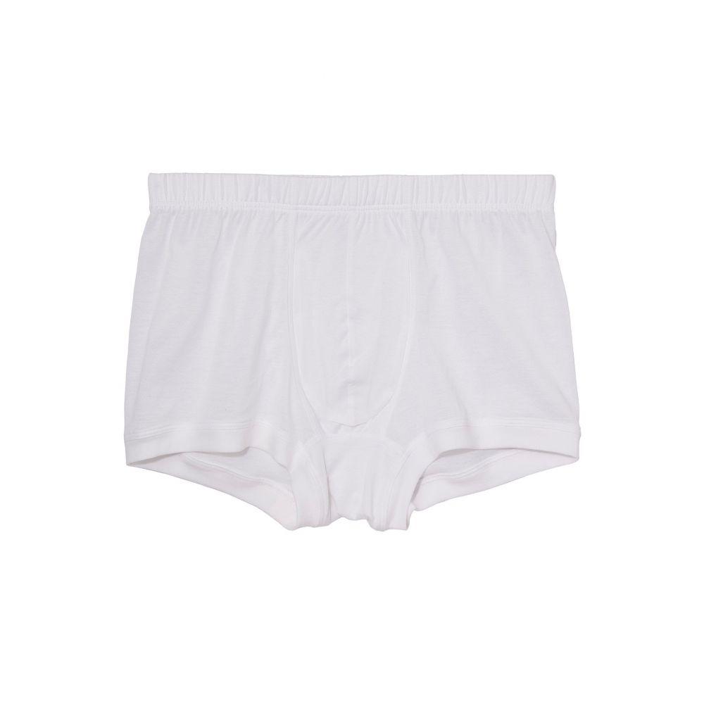 ハンロ Hanro メンズ ボクサーパンツ インナー・下着【Cotton Sporty Boxer Briefs】White