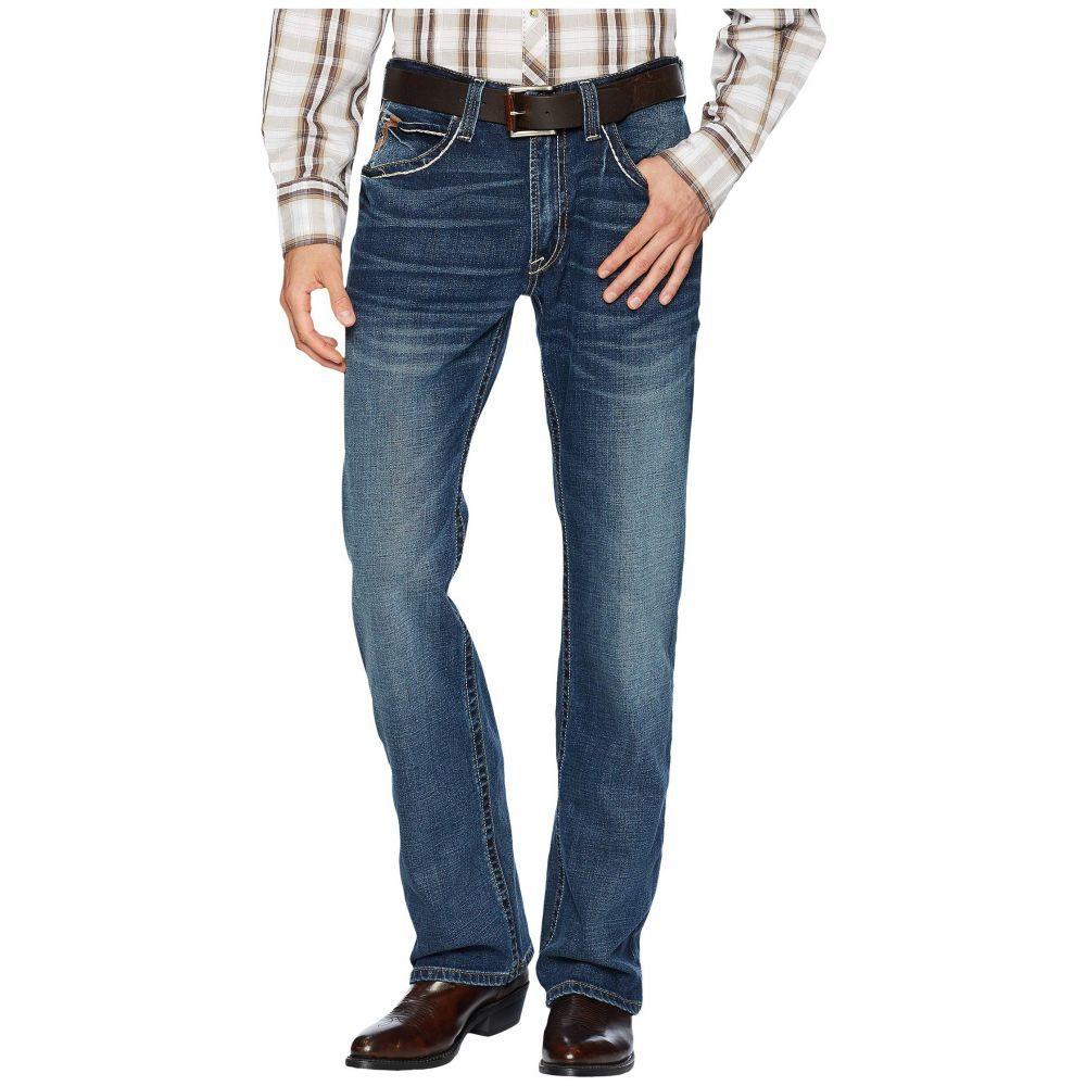 アリアト Ariat メンズ ジーンズ・デニム ブーツカット ボトムス・パンツ【M4 Low Rise Bootcut Jeans in Silverton】Silverton