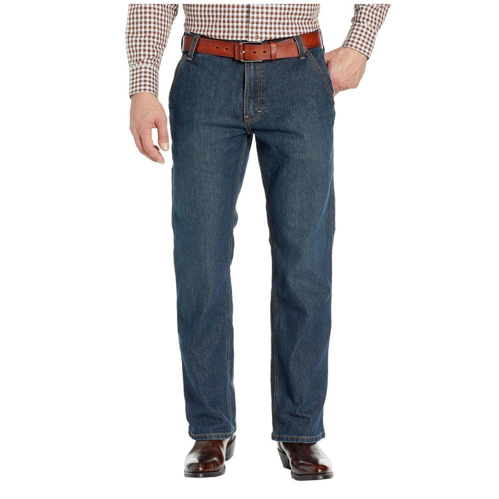 アリアト Ariat メンズ ジーンズ・デニム ブーツカット ボトムス・パンツ【Rebar M4 Durastretch Workhouse Low Rise Bootcut Jeans in Phantom】Phantom