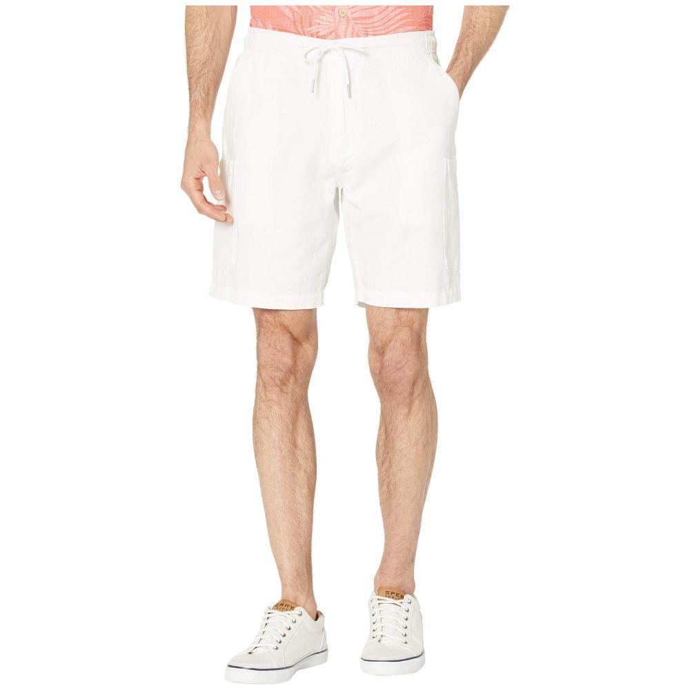 レインスプーナー Reyn Spooner メンズ ショートパンツ カーゴ ボトムス・パンツ【Linen Cargo Shorts】White