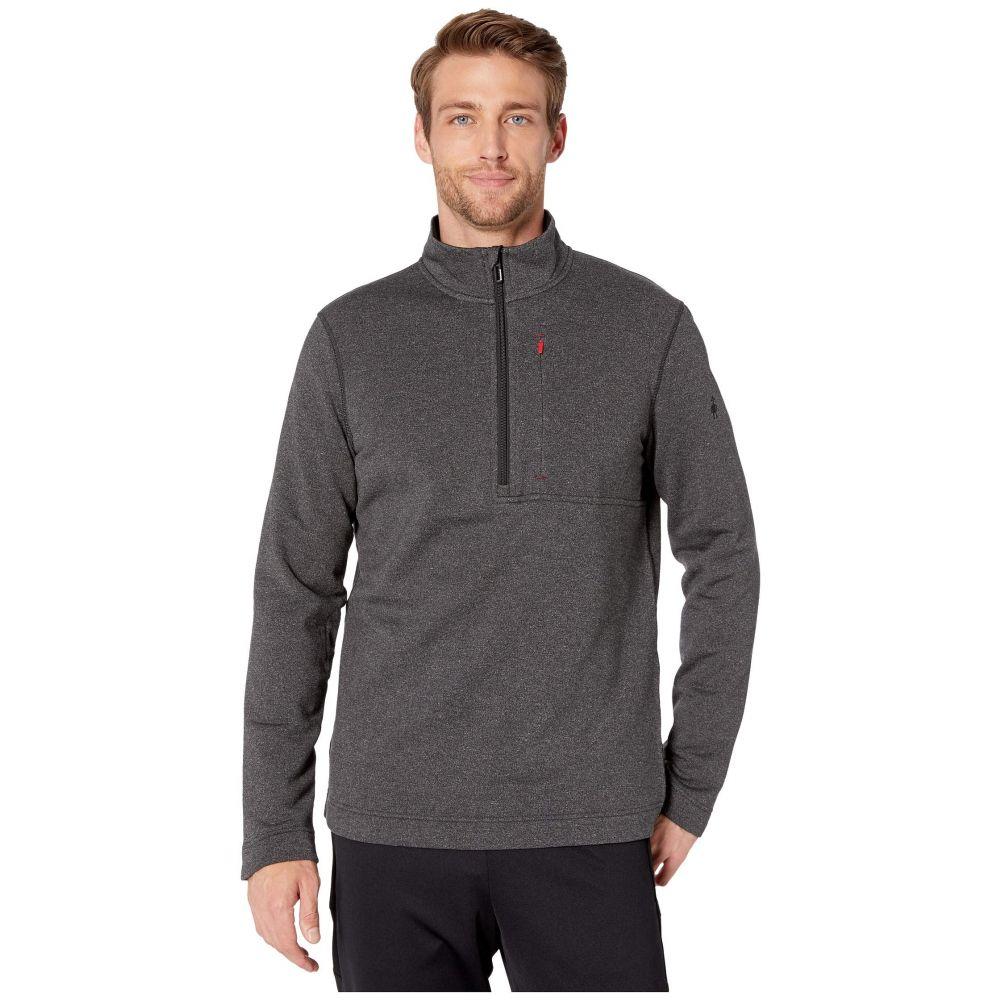 スマートウール Smartwool メンズ フリース ハーフジップ トップス【Merino Sport Fleece 1/2 Zip】Charcoal Heather