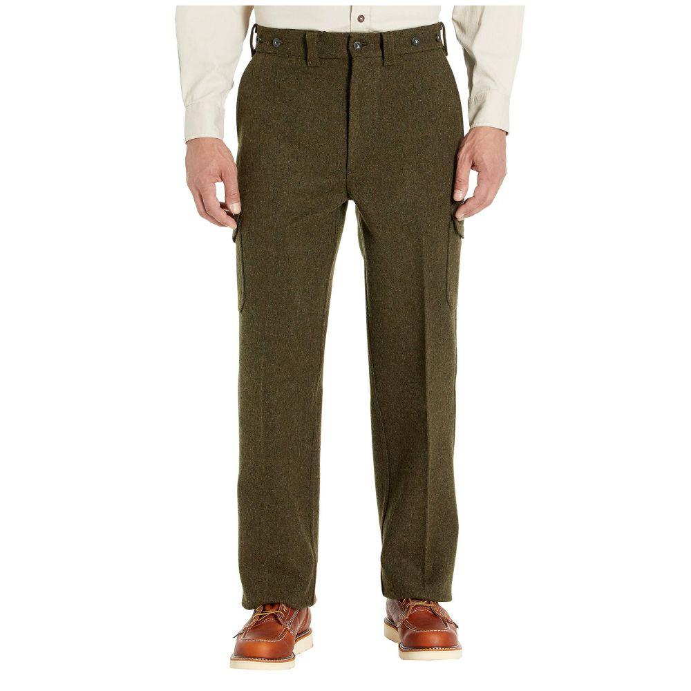 フィルソン Filson メンズ ボトムス・パンツ 【Mackinaw Field Pant】Forest Green