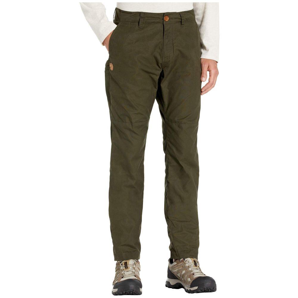 フェールラーベン Fjallraven メンズ ボトムス・パンツ 【Sormland Tapered Trousers】Deep Forest