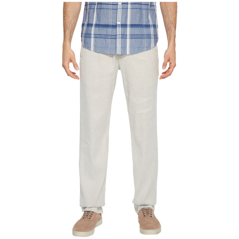 トミー バハマ Tommy Bahama メンズ ボトムス・パンツ 【Beach Linen Elastic Waist Pants】Stone Khaki