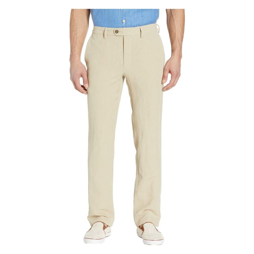 トミー バハマ Tommy Bahama メンズ ボトムス・パンツ 【Monterey Authentic Fit Linen-Blend Pants】Dusty Mahogany