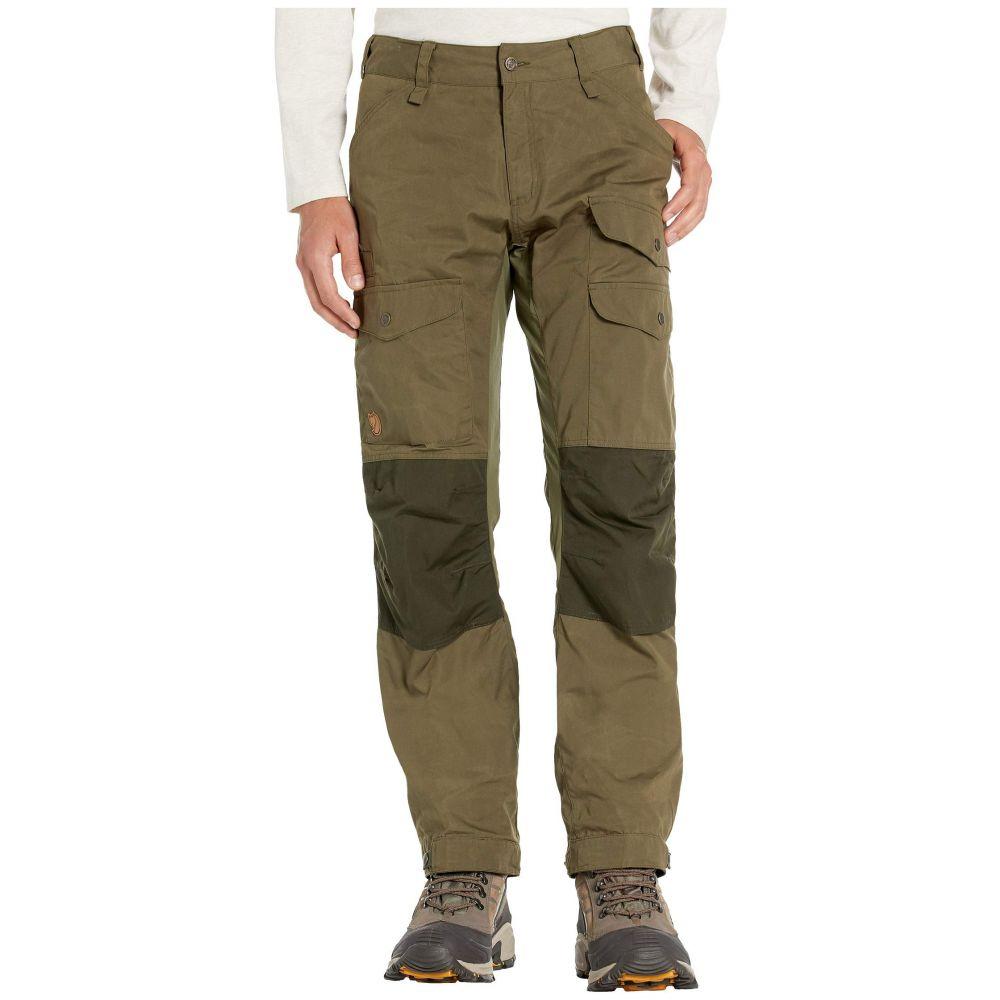 フェールラーベン Fjallraven メンズ ボトムス・パンツ 【Vidda Pro Ventilated Trousers】Laurel Green/Deep Forest