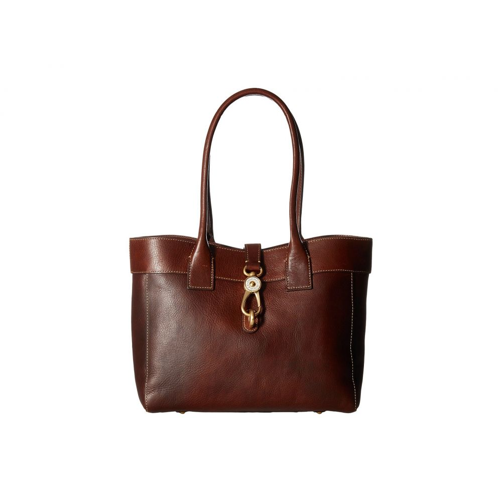 ドゥーニー&バーク Dooney & Bourke レディース ショルダーバッグ バッグ【Florentine Classic Large Amelie Shoulder Bag】Chestnut/Self Trim