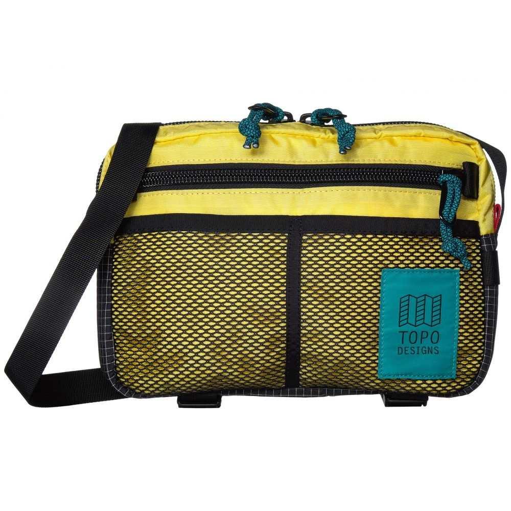 トポ デザイン Topo Designs レディース ショルダーバッグ バッグ【Block Bag】Yellow