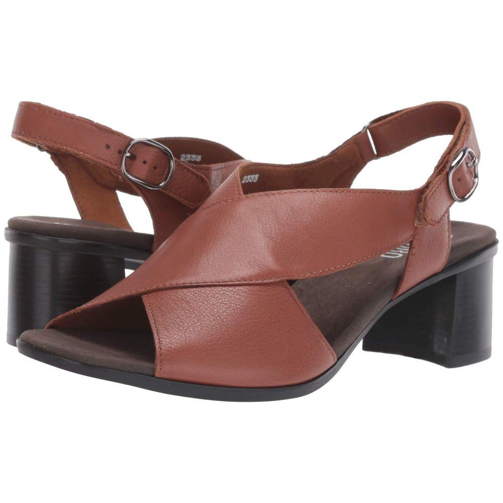 マンロー Munro レディース ヒール シューズ・靴【Laine】Luggage Leather