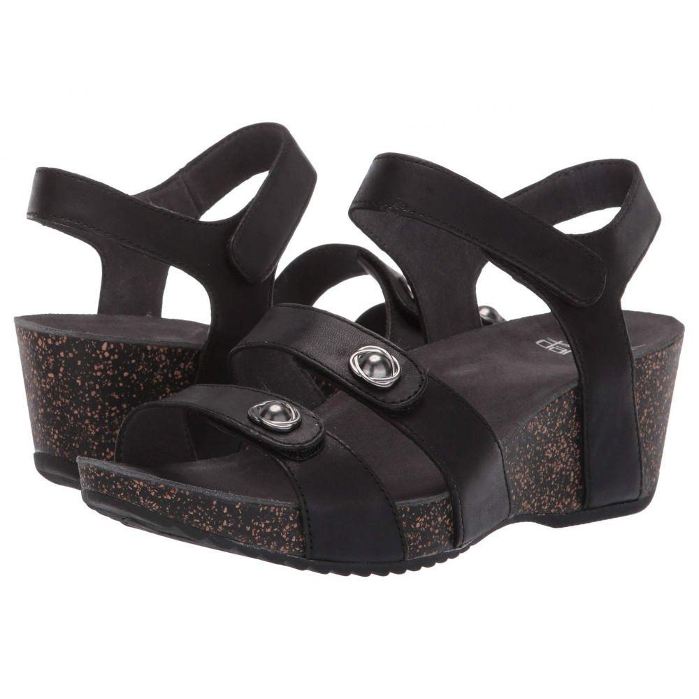 ダンスコ Dansko レディース ヒール シューズ・靴【Savannah】Black Waxy Burnished