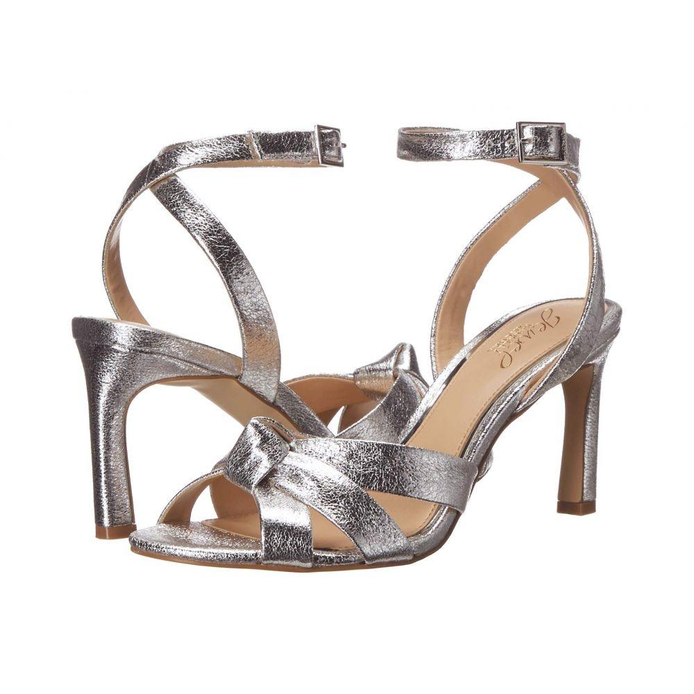 バッジェリー ミシュカ Jewel Badgley Mischka レディース ヒール シューズ・靴【Rhonda】Silver