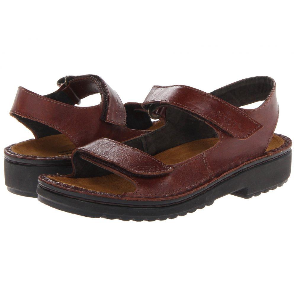 ナオト Naot レディース ヒール シューズ・靴【Karenna】Luggage Brown Leather
