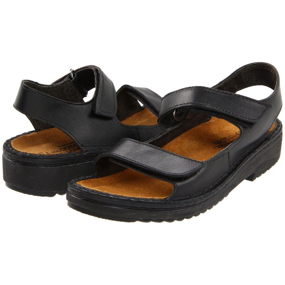 ナオト Naot レディース ヒール シューズ・靴【Karenna】Black Matte Leather