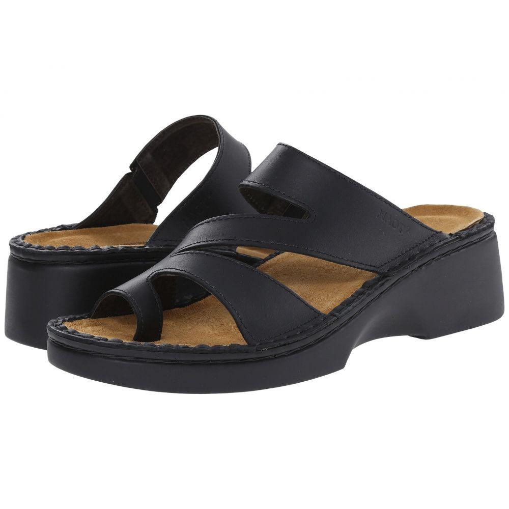 ナオト Naot レディース ヒール シューズ・靴【Monterey】Black Matte Leather