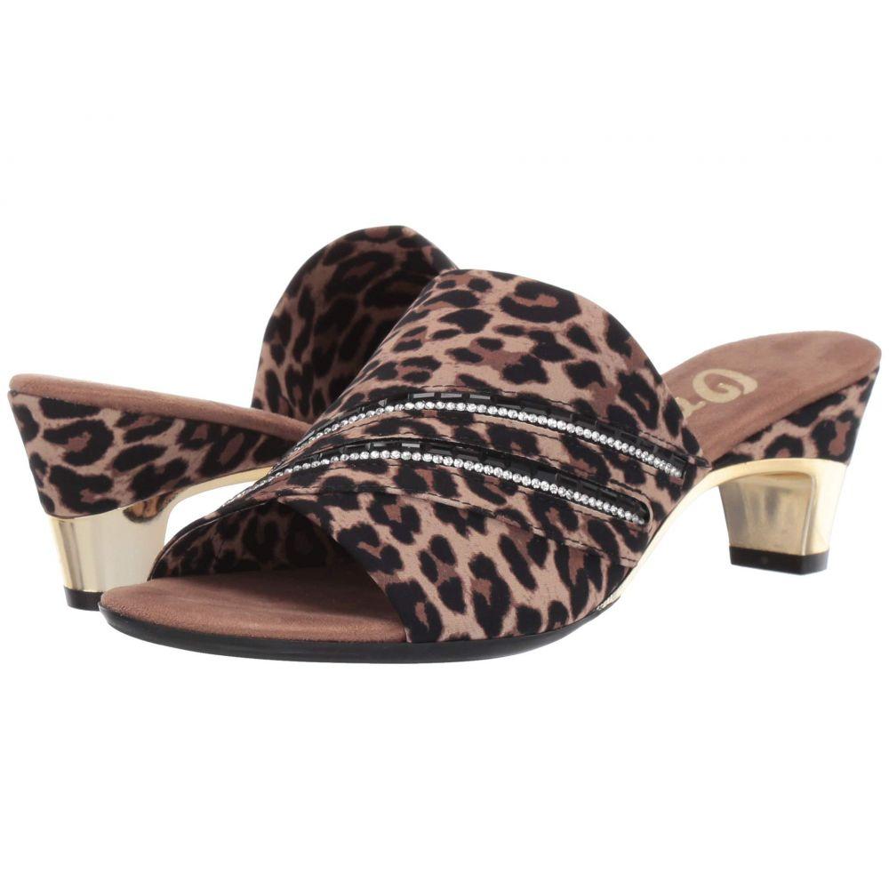 オネックス Onex レディース ヒール シューズ・靴【Elanor】Leopard