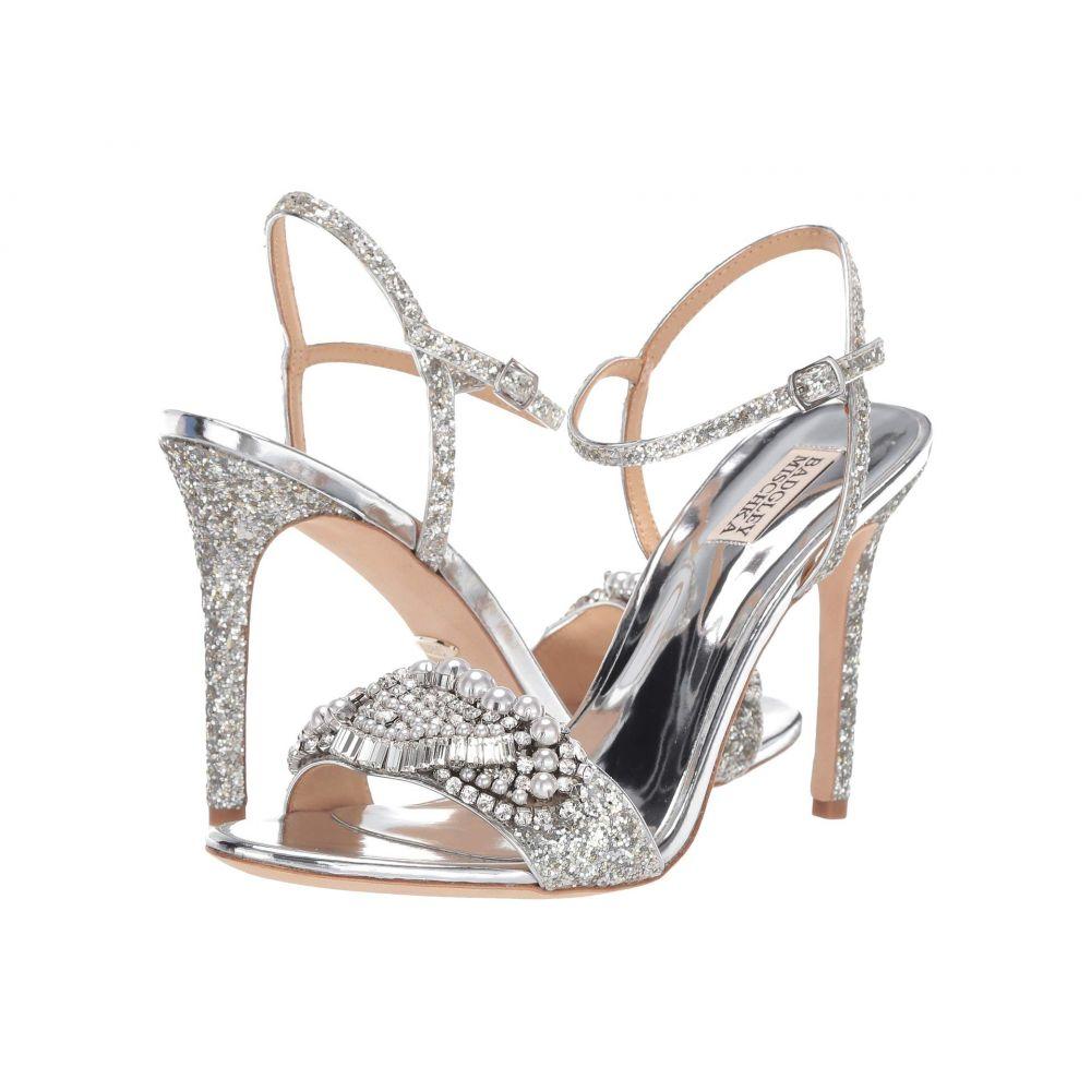 バッジェリー ミシュカ Badgley Mischka レディース ヒール シューズ・靴【Odelia】Silver