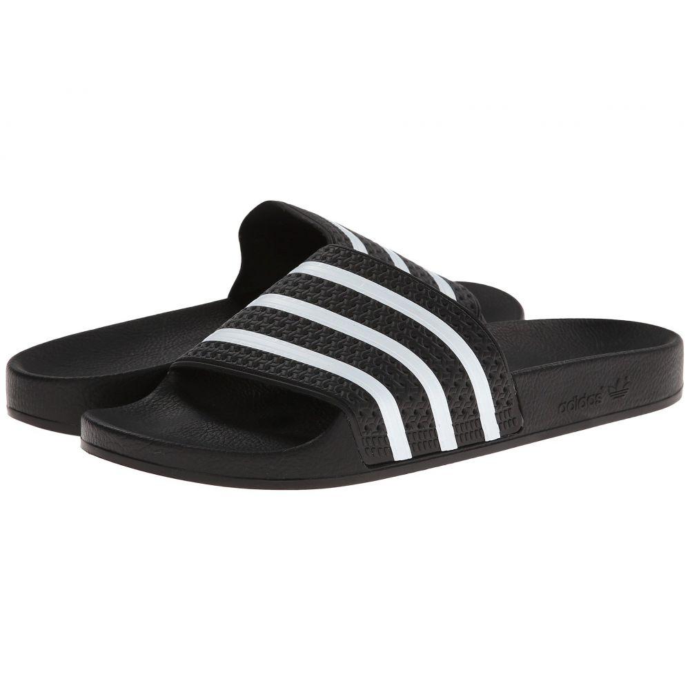 アディダス adidas レディース サンダル・ミュール シューズ・靴【Adilette】Black/White