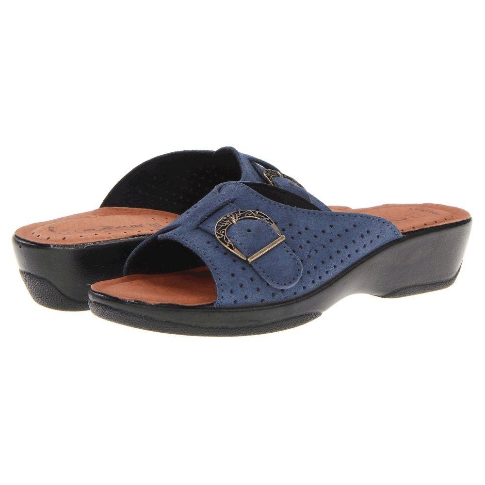 スプリングステップ Spring Step レディース ヒール シューズ・靴【Edella】Blue