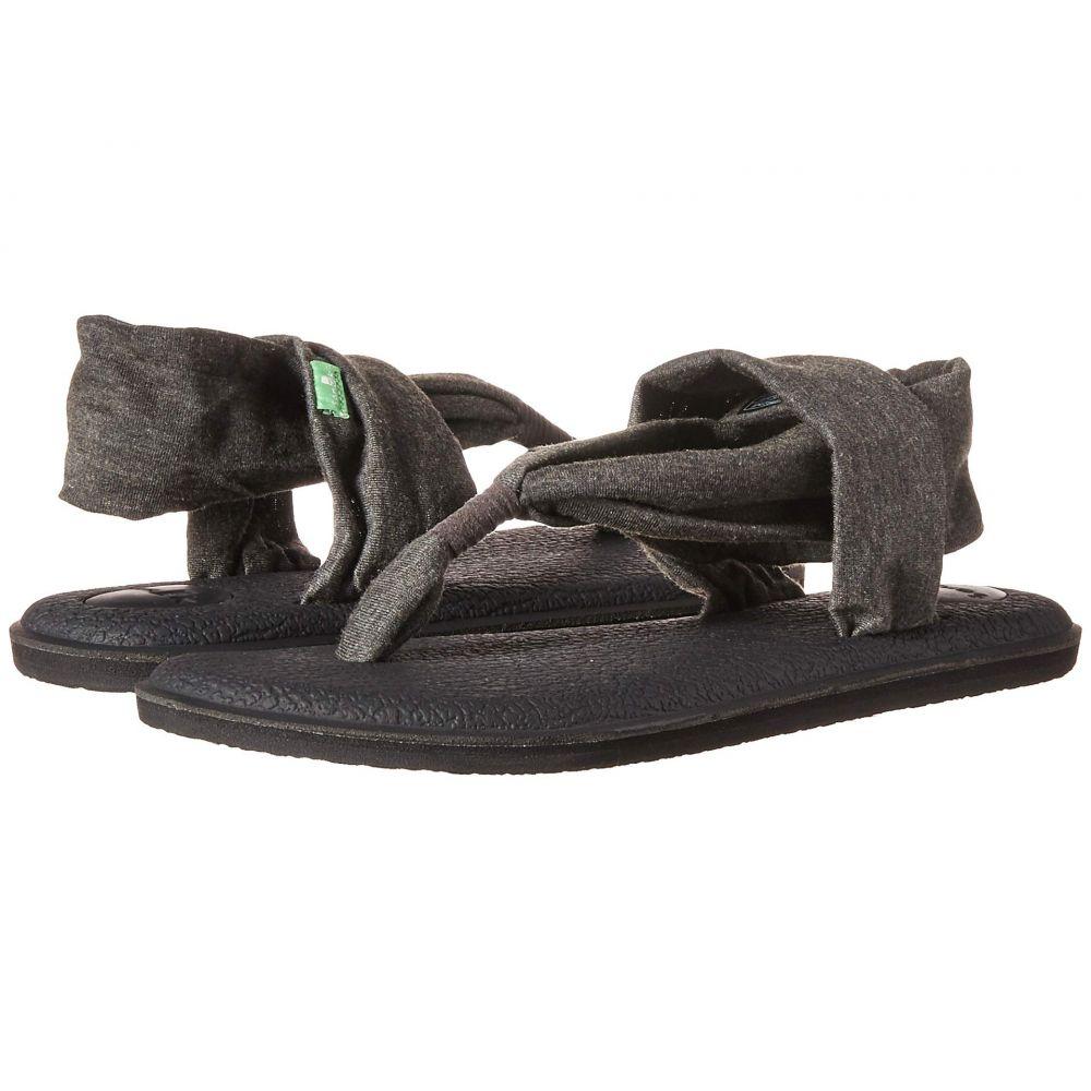 サヌーク Sanuk レディース サンダル・ミュール シューズ・靴【Yoga Sling 2】Charcoal