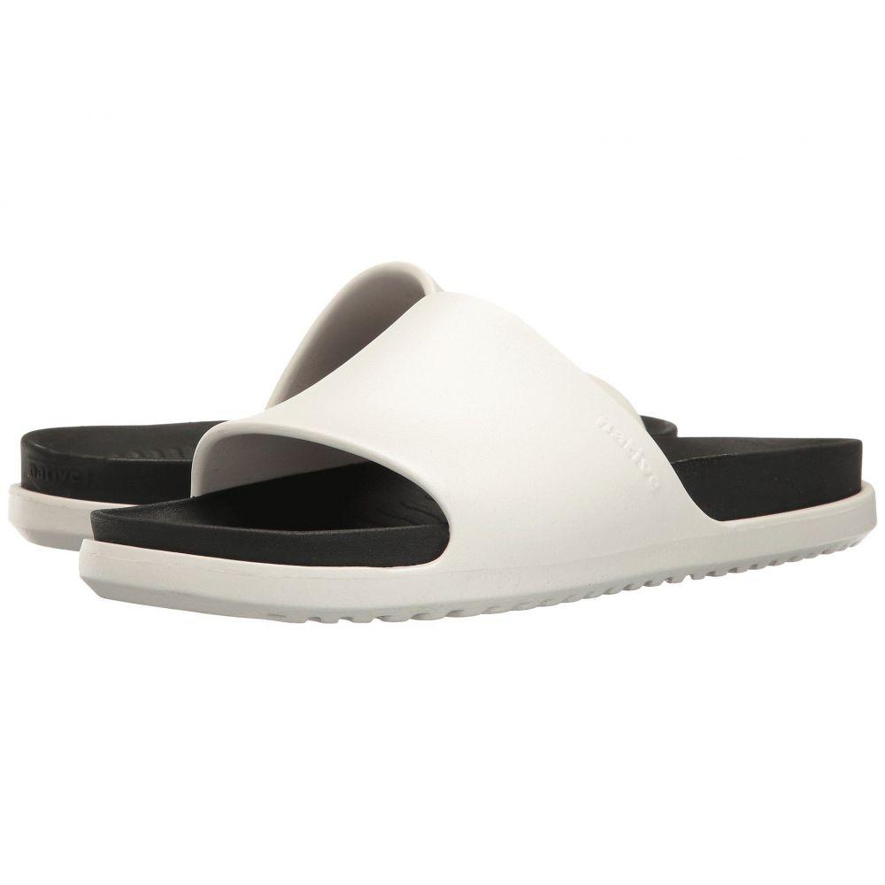 ネイティブ シューズ Native Shoes レディース サンダル・ミュール シューズ・靴【Spencer LX】Shell White/Jiffy Black