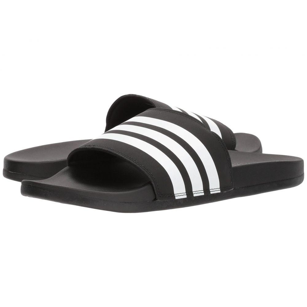 アディダス adidas レディース サンダル・ミュール シューズ・靴【Adilette Comfort】Black/White/Black