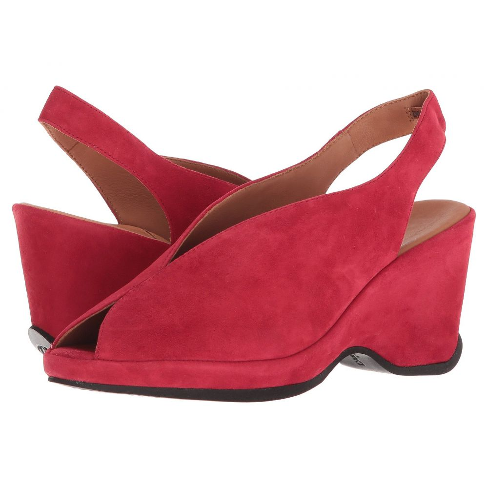 ラモールドピード L'Amour Des Pieds レディース ヒール シューズ・靴【Odetta】Bright Red Kid