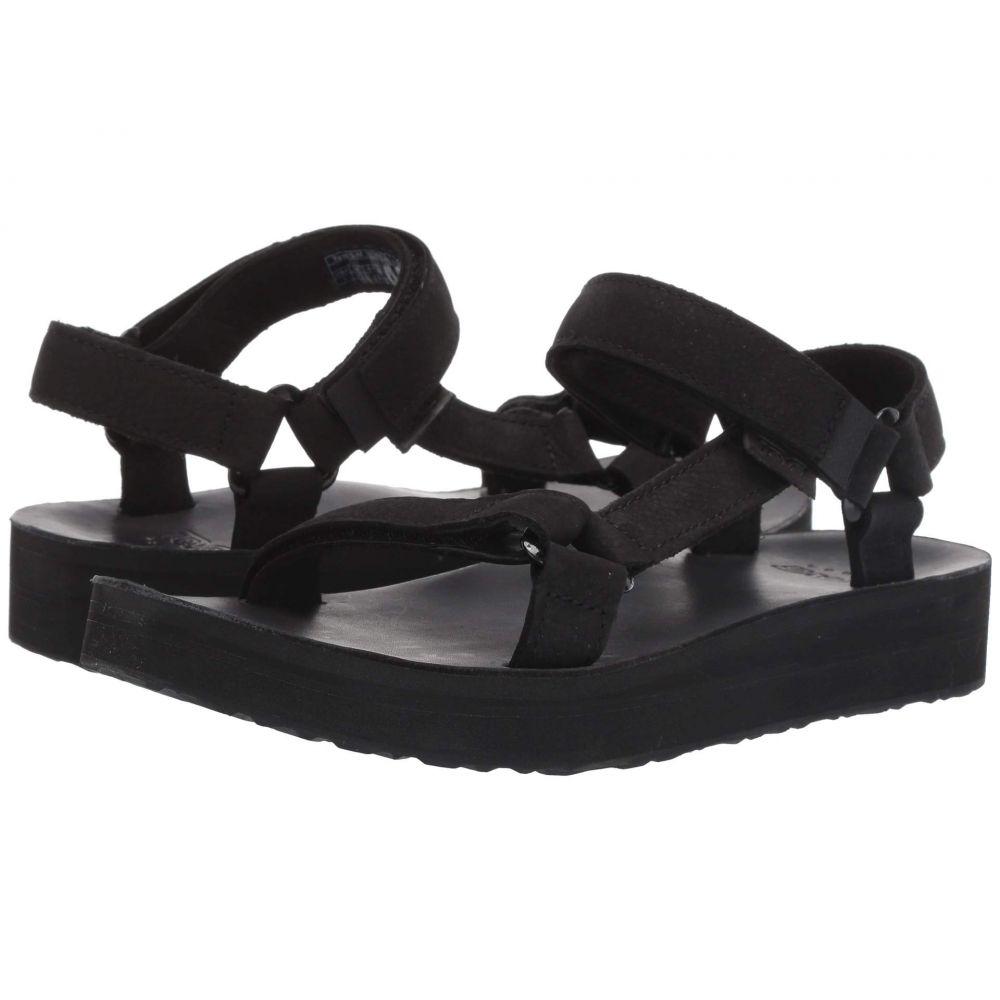 テバ Teva レディース サンダル・ミュール シューズ・靴【Midform Universal Leather】Black