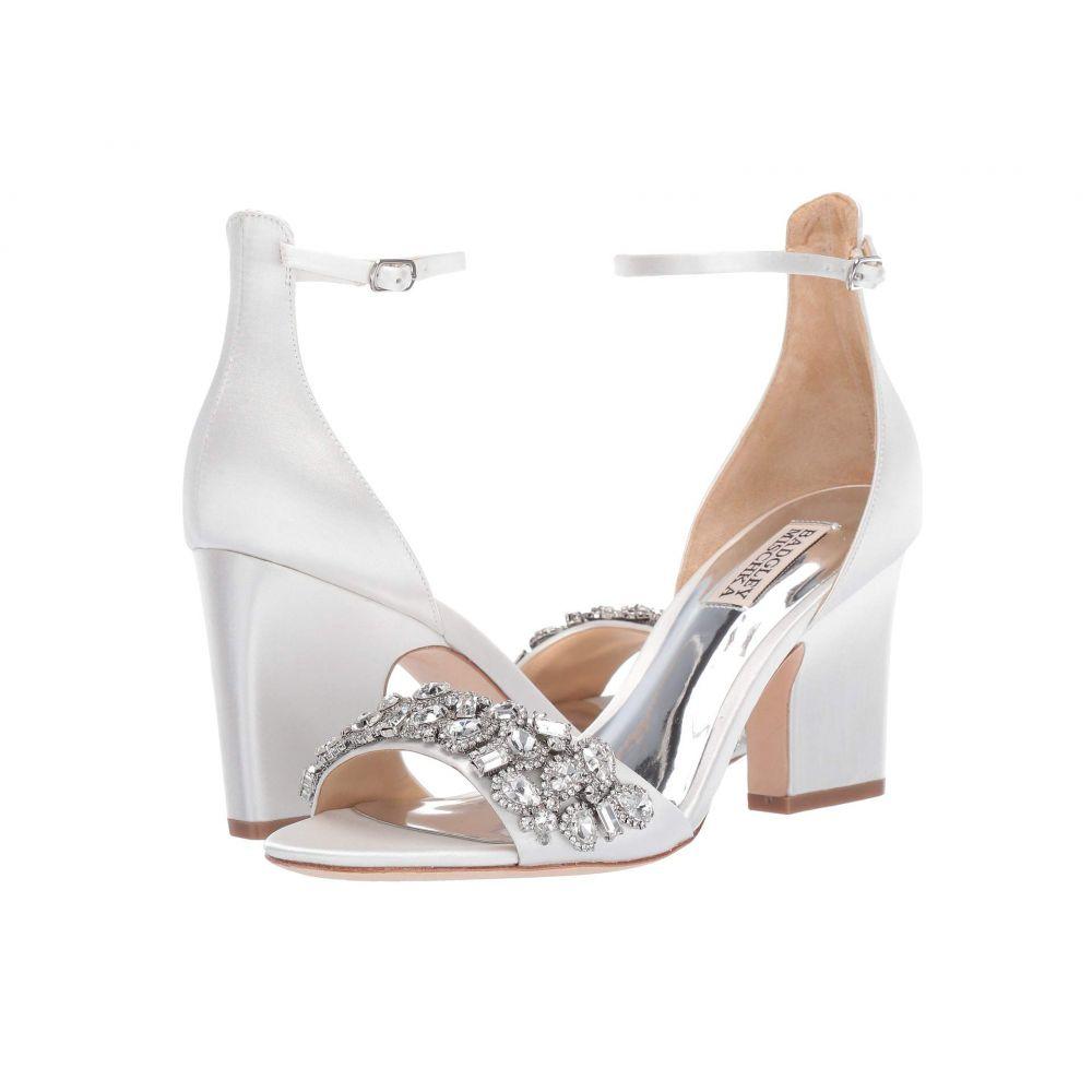 バッジェリー ミシュカ Badgley Mischka レディース ヒール シューズ・靴【Laraine】Soft White Satin