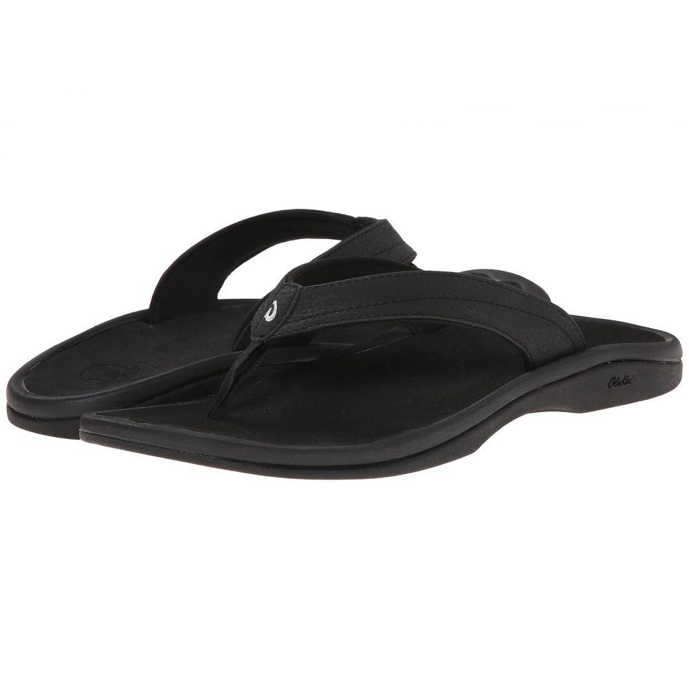オルカイ OluKai レディース ビーチサンダル シューズ・靴【Ohana W】Black/Black