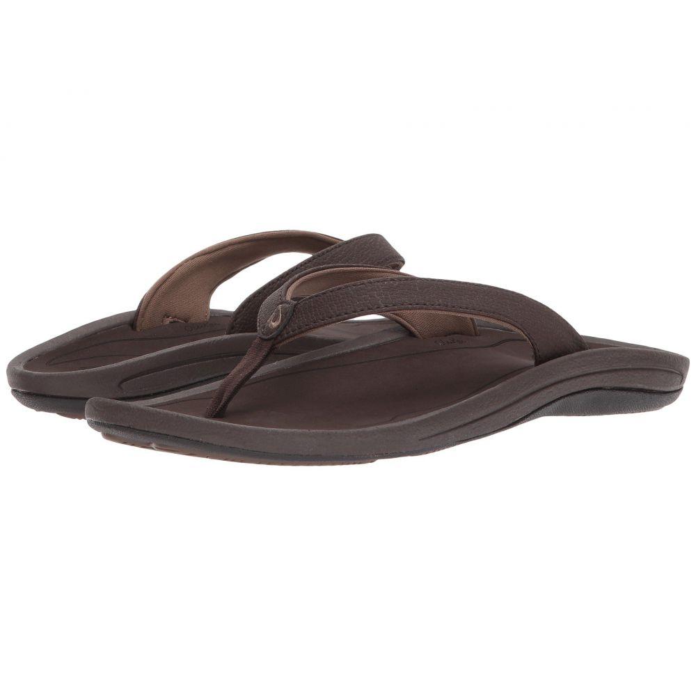 オルカイ OluKai レディース ビーチサンダル シューズ・靴【Kulapa Kai】Dark Java/Dark Wood