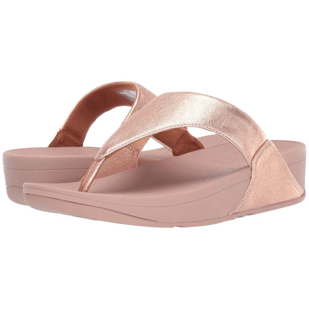 フィットフロップ FitFlop レディース ビーチサンダル シューズ・靴【Lulu(TM)】Rose Gold