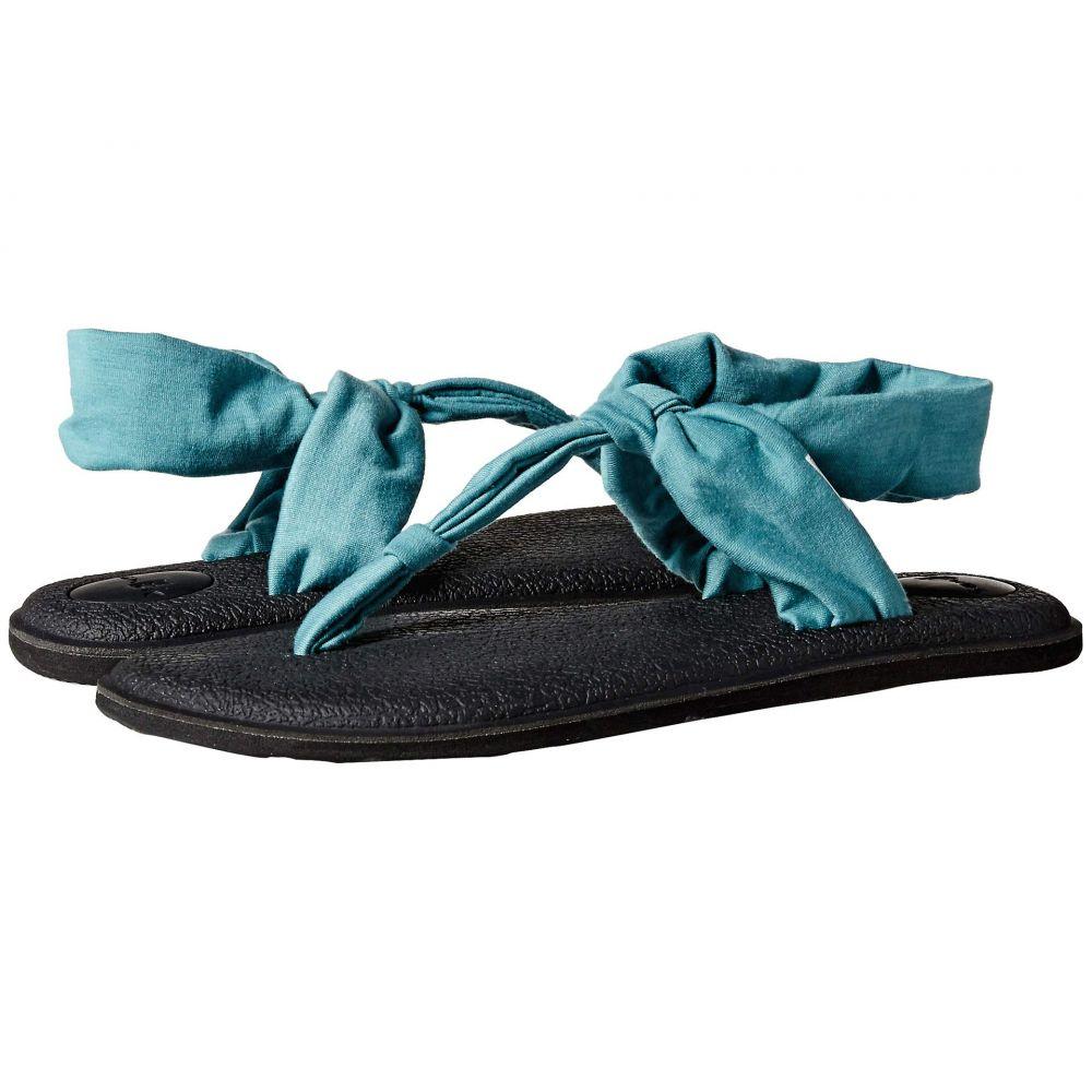 サヌーク Sanuk レディース サンダル・ミュール シューズ・靴【Yoga Sling Ella】Mineral Blue