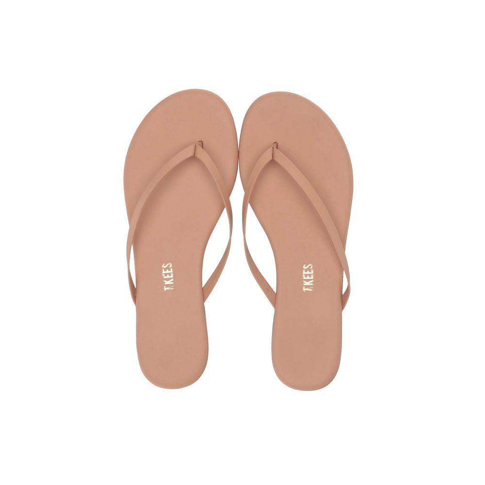 ティキーズ TKEES レディース ビーチサンダル シューズ・靴【Foundation Matte】Nude Beach