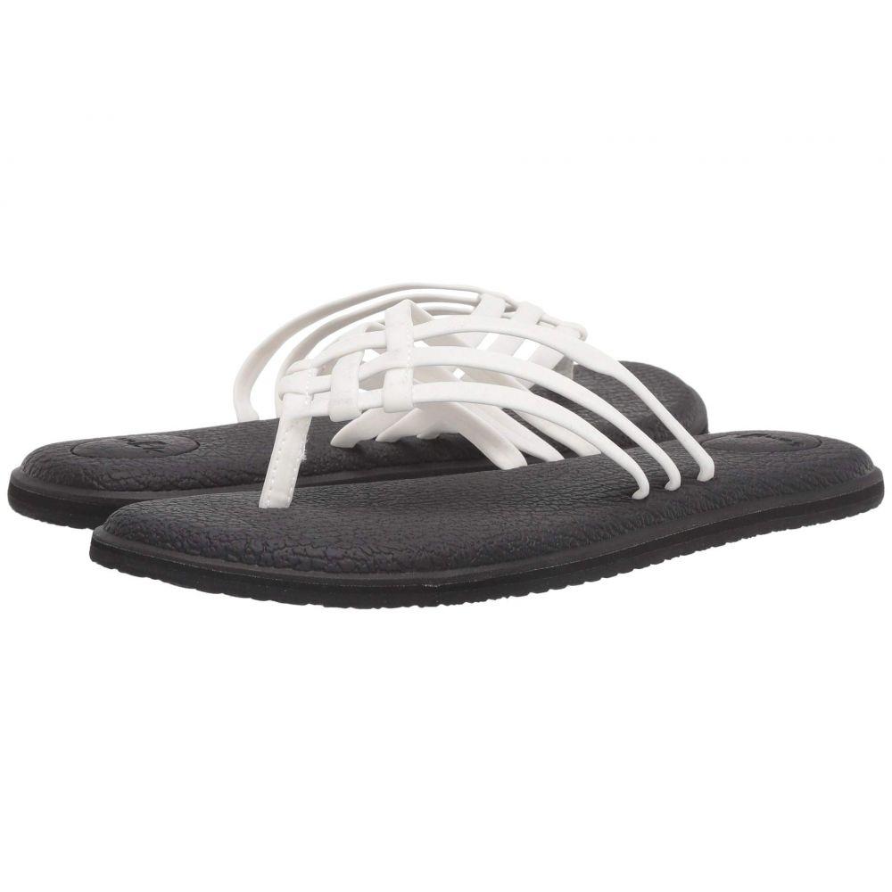 サヌーク Sanuk レディース ビーチサンダル シューズ・靴【Yoga Salty】White