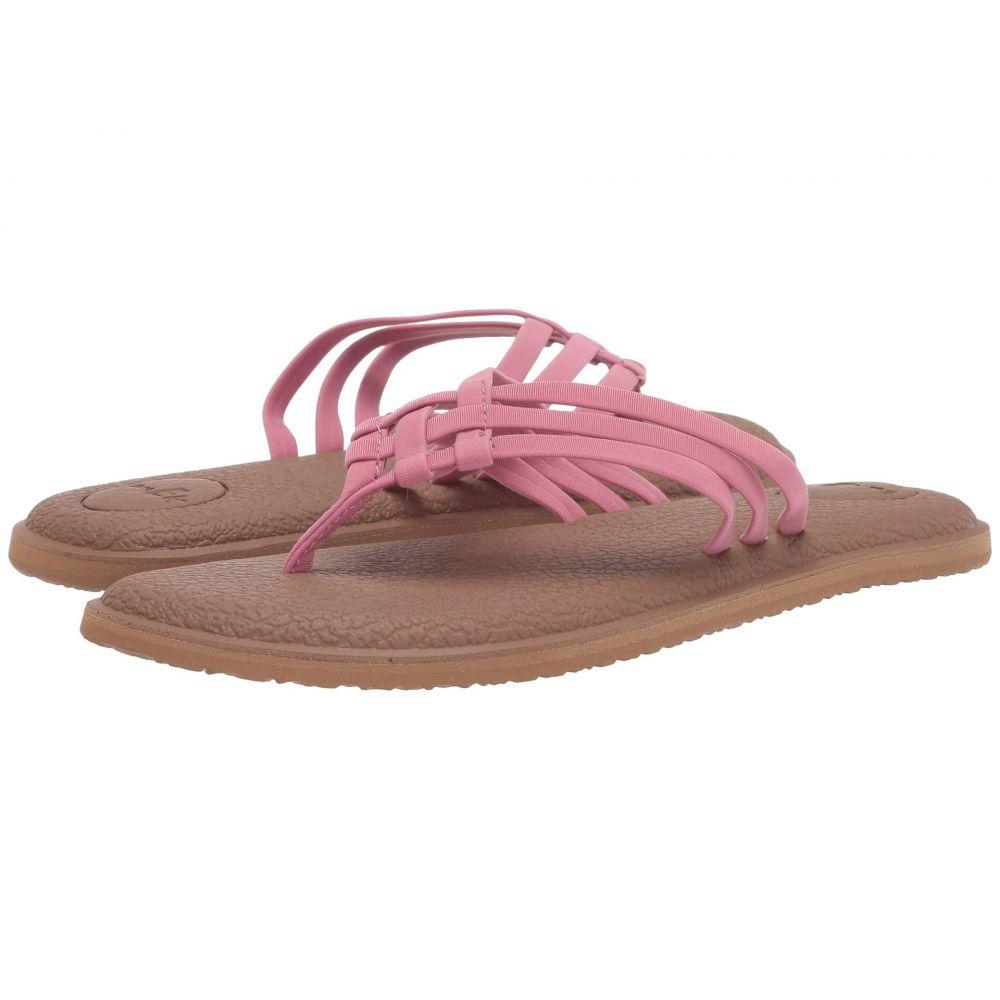 サヌーク Sanuk レディース ビーチサンダル シューズ・靴【Yoga Salty】Heather Rose