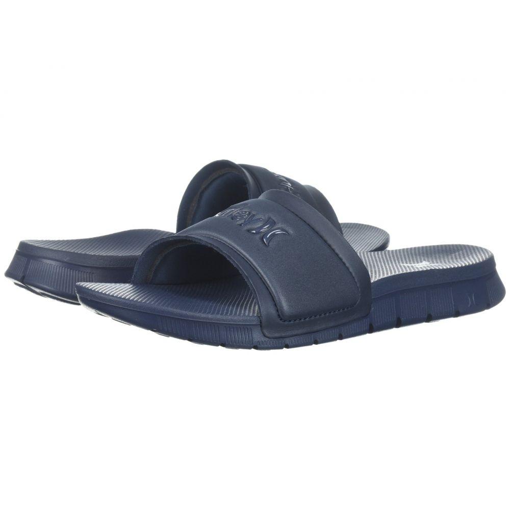 ハーレー Hurley レディース サンダル・ミュール シューズ・靴【Fusion Slide】Squadron Blue