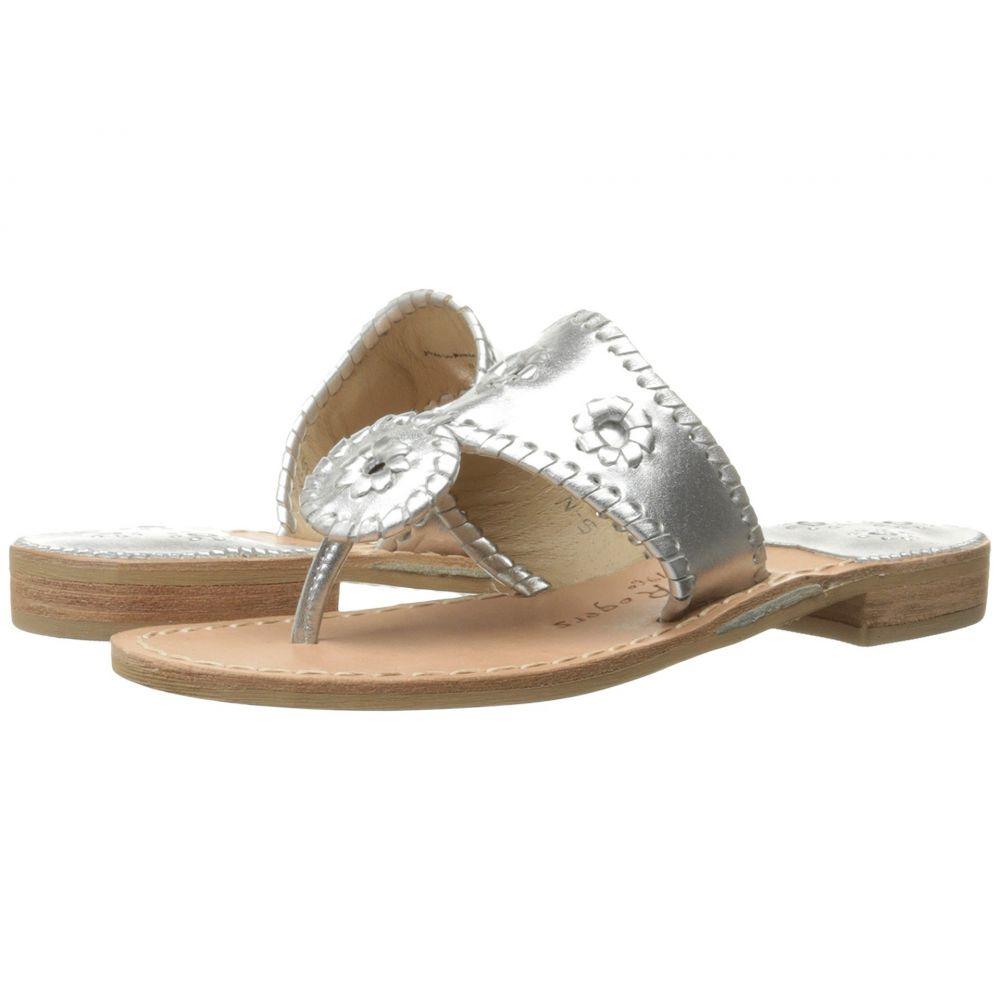 ジャックロジャース Jack Rogers レディース ビーチサンダル フラット シューズ・靴【Jacks Flat Sandal】Silver