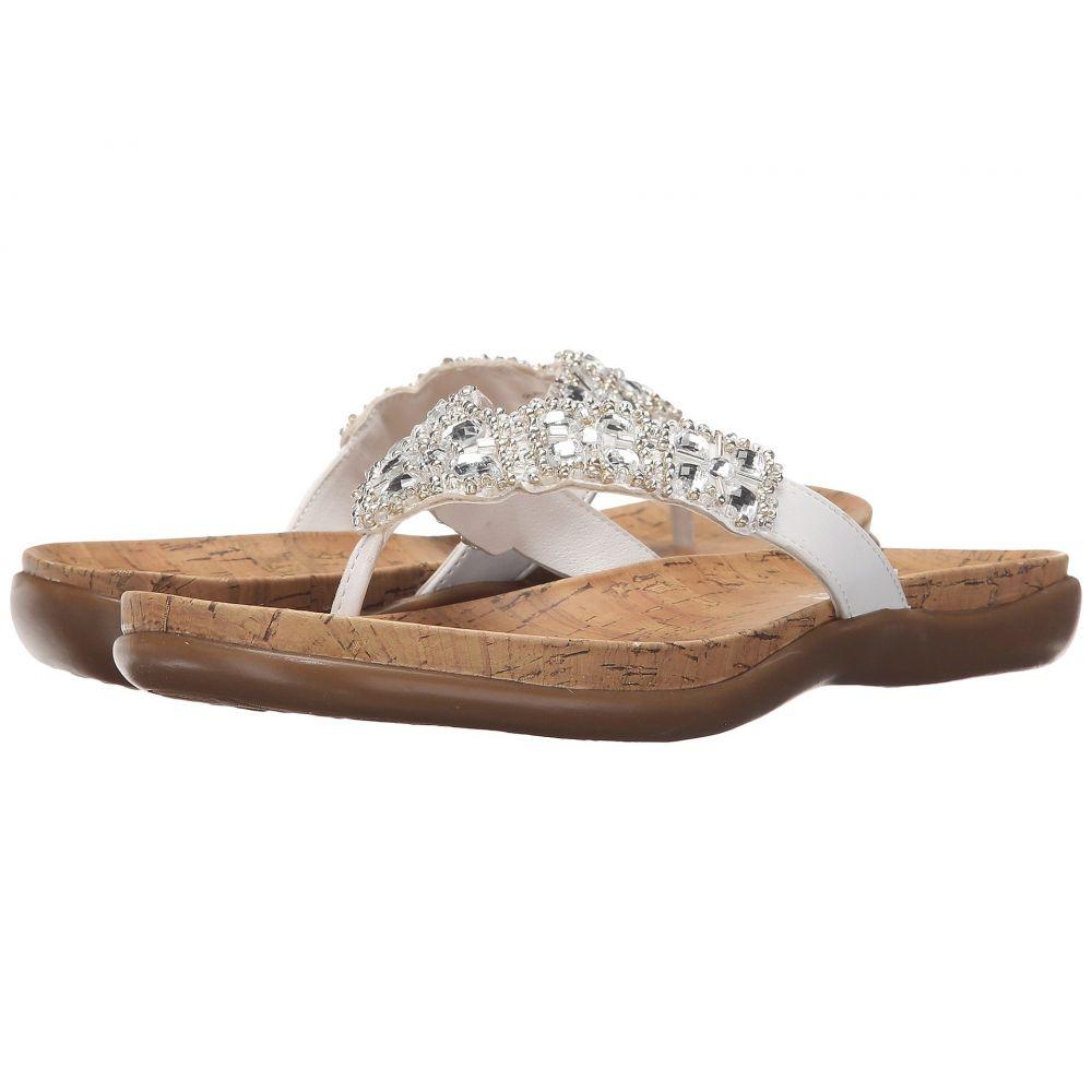 ケネス コール Kenneth Cole Reaction レディース ビーチサンダル シューズ・靴【Glam-athon】White II