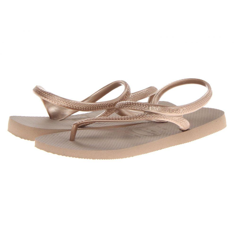 ハワイアナス Havaianas レディース ビーチサンダル シューズ・靴 Flash Urban Flip Flops Rose GoldT1KlcFJ