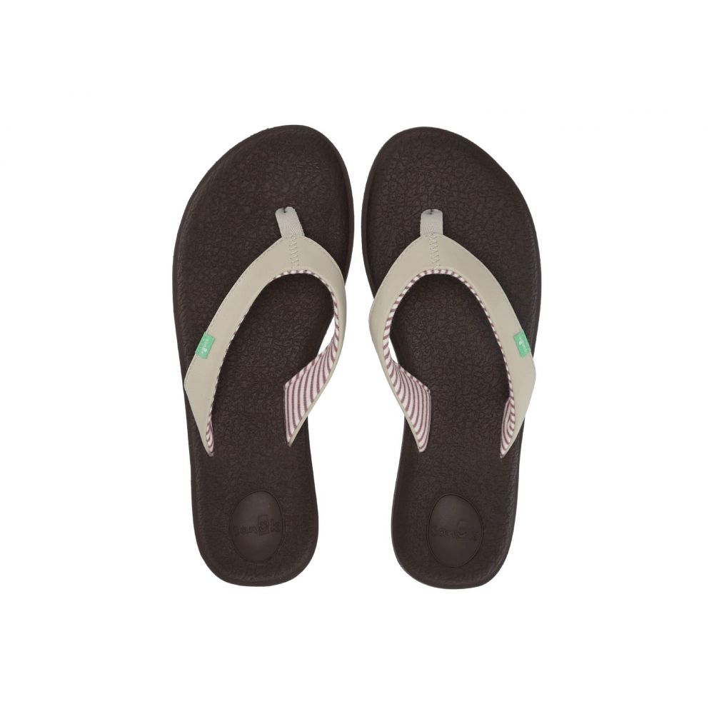 サヌーク Sanuk レディース ビーチサンダル シューズ・靴【Yoga Chakra】Light Natural