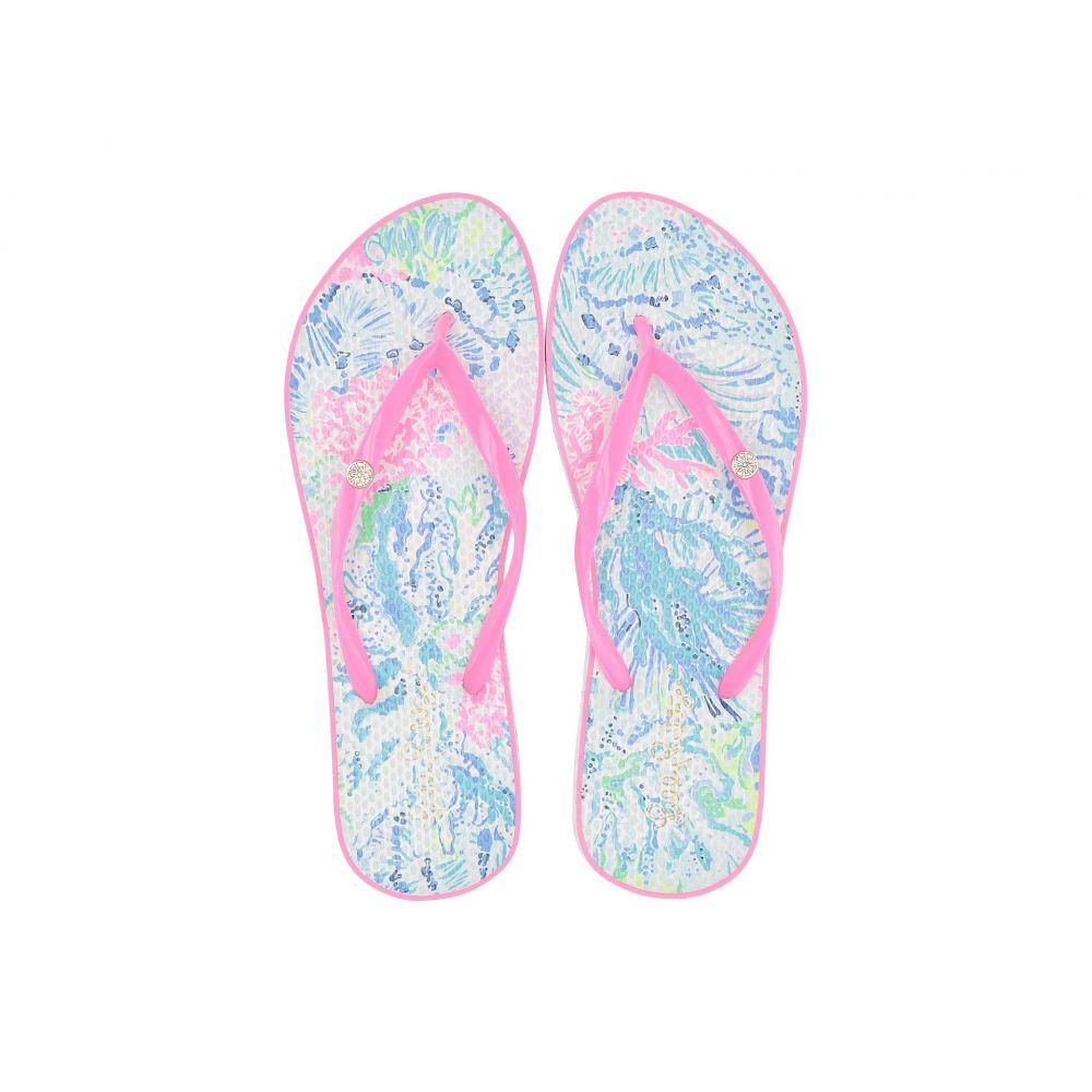 リリーピュリッツァー Lilly Pulitzer レディース ビーチサンダル シューズ・靴【Pool Flip-Flop】Multi/Sink or Swim