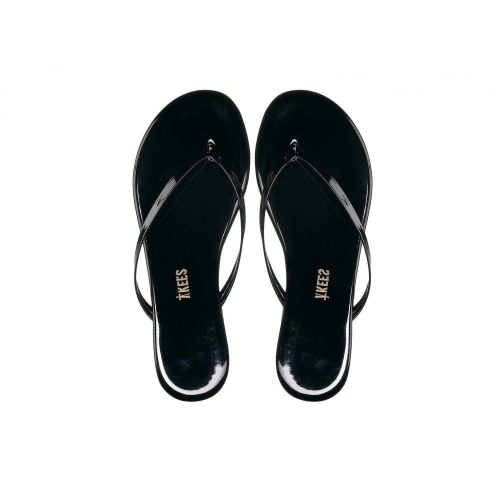 ティキーズ TKEES レディース ビーチサンダル シューズ・靴【Glosses】Licorice